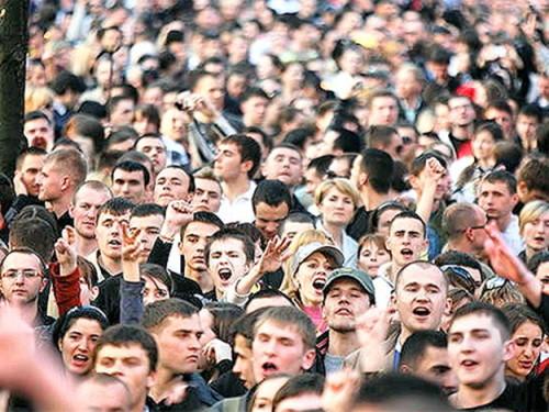 Виды толпы