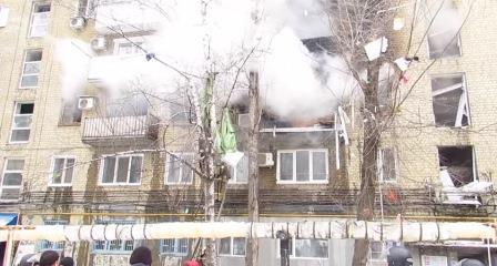 Взрыв в Саратове