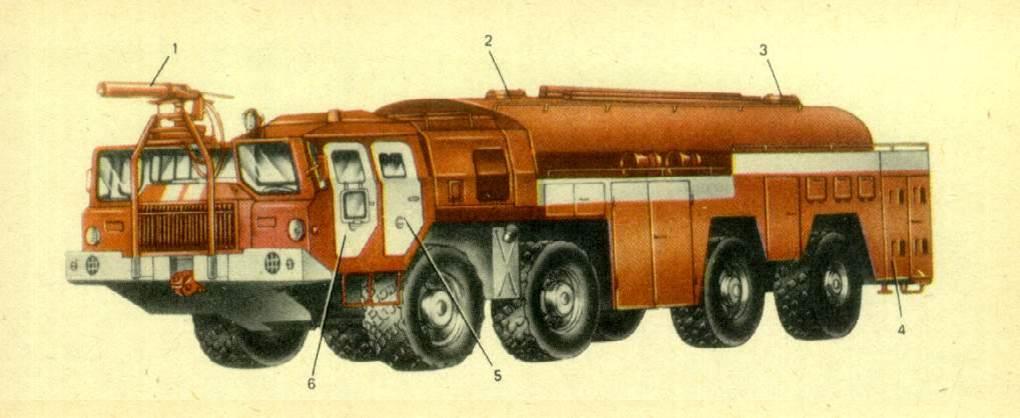 аэродромный автомобиль АА-60-160.01