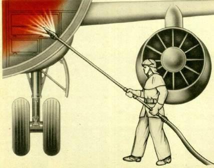применение ствола-пробойника
