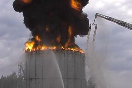 взрыв резервуара