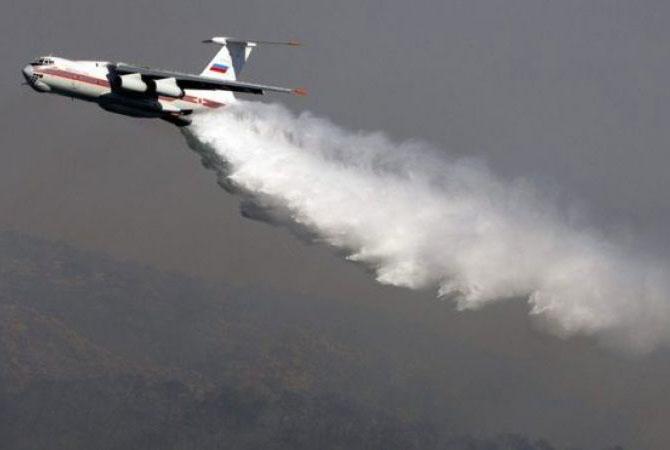 Русский Ил-76 спас отпожаров два города Чили
