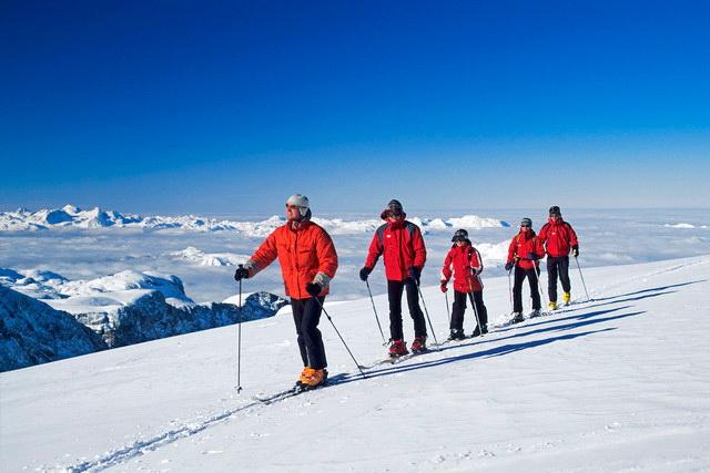 Поход зимой на лыжах
