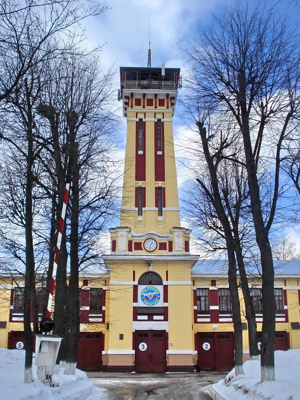 Пожарная каланча Ярославля