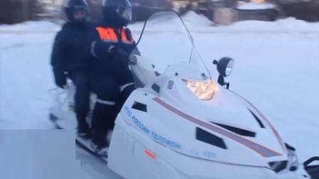 Снегоход МЧС