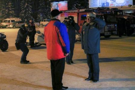 Руководитель МЧС пообещал Алтаю помощь вборьбе спаводком