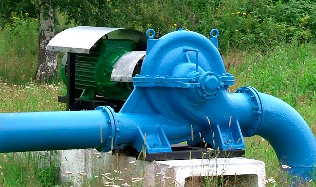 Водозаборное сооружение