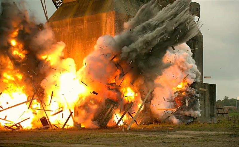 Взрыв на промышленных объектах