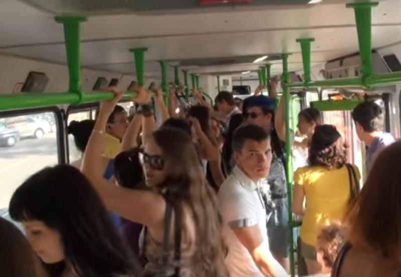 Безопасность людей в автобусе