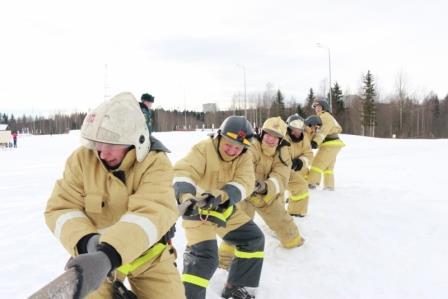 Флэшмоб пожарных