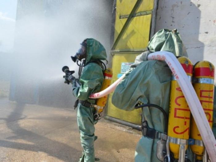 Ликвидация химических аварий