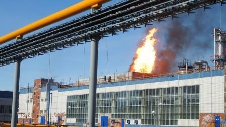Пожар на Куйбышевзавод