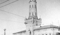 Пожарная каланча в Сокольниках (1961 г.)