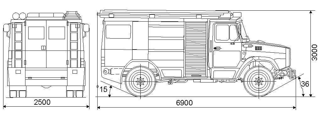 Схема АЦ-3-40 (433362)
