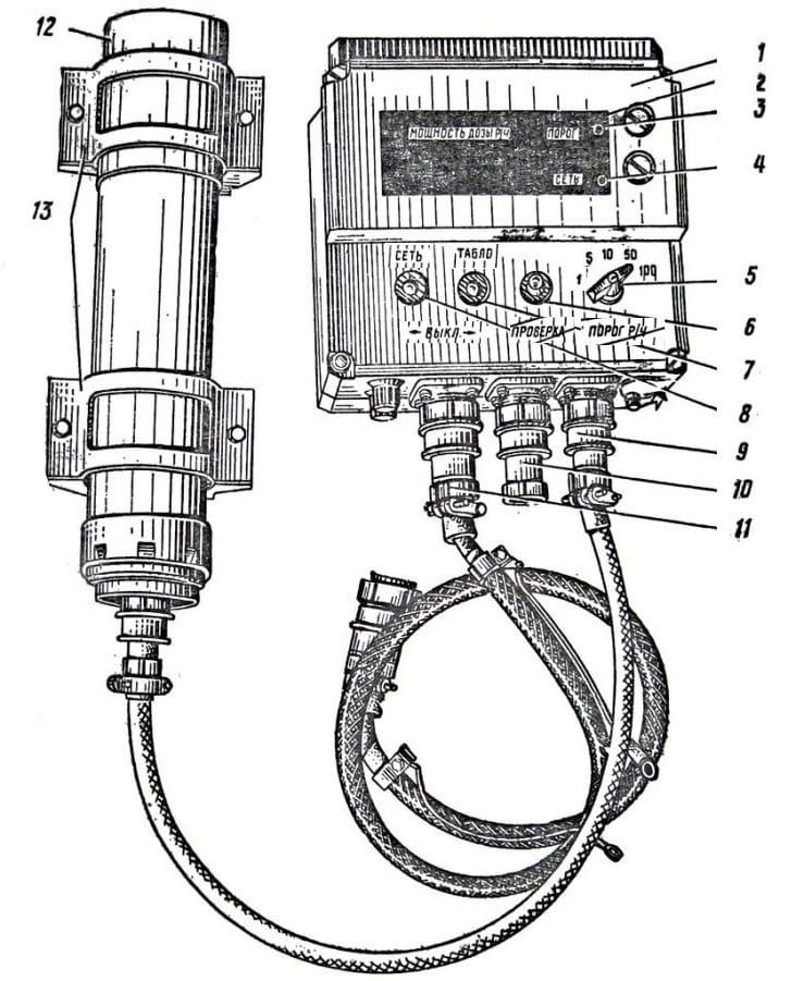 Схематичный рисунок ИМД-21