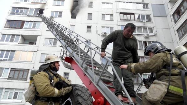 Спасение на пожаре