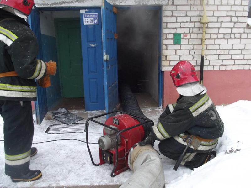 Тушения пожаров в подвалах зданий особенности и тактика Тушение подвала