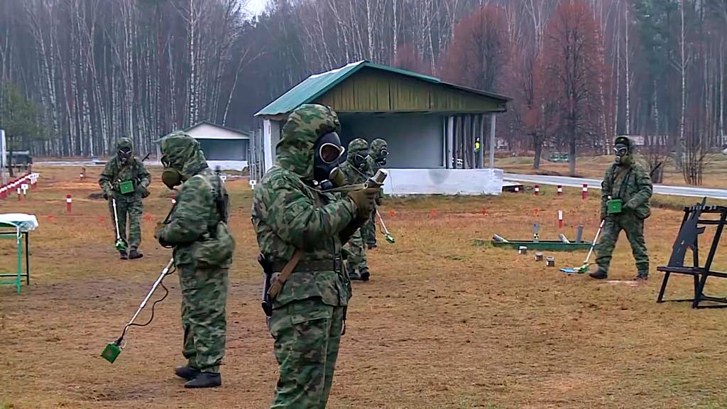 Вооружение и средства РХБЗ