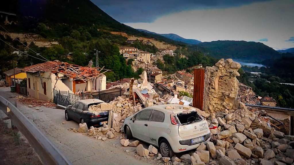 Воздействие землетрясения