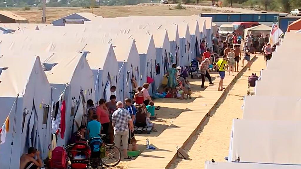 Временный поселок (лагерь)