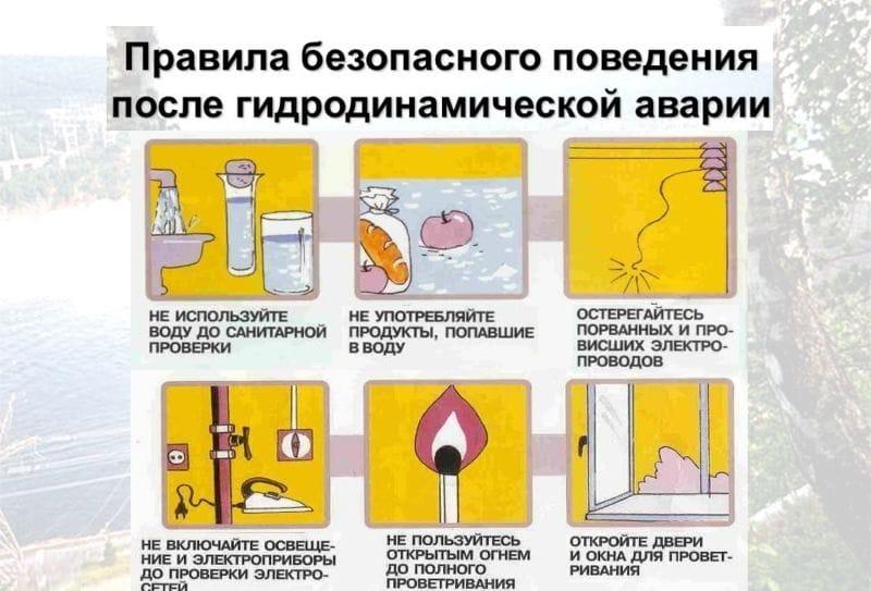 что делать после гидронинамической аварии