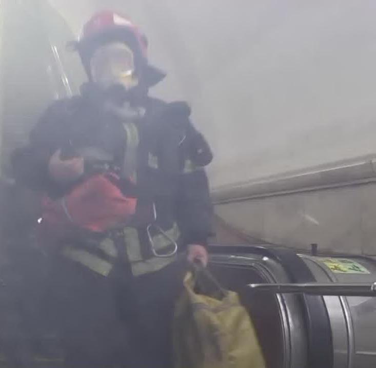 Как действовать при взрыве в метро