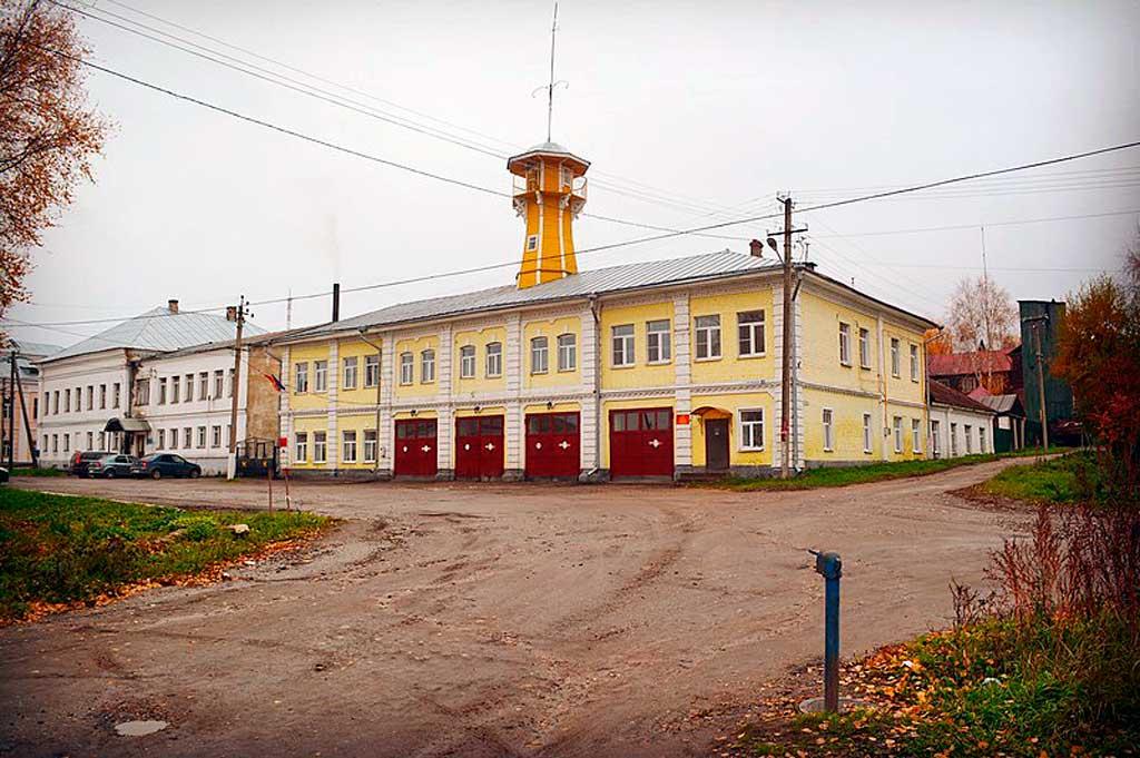 Пожарная каланча г. Галича