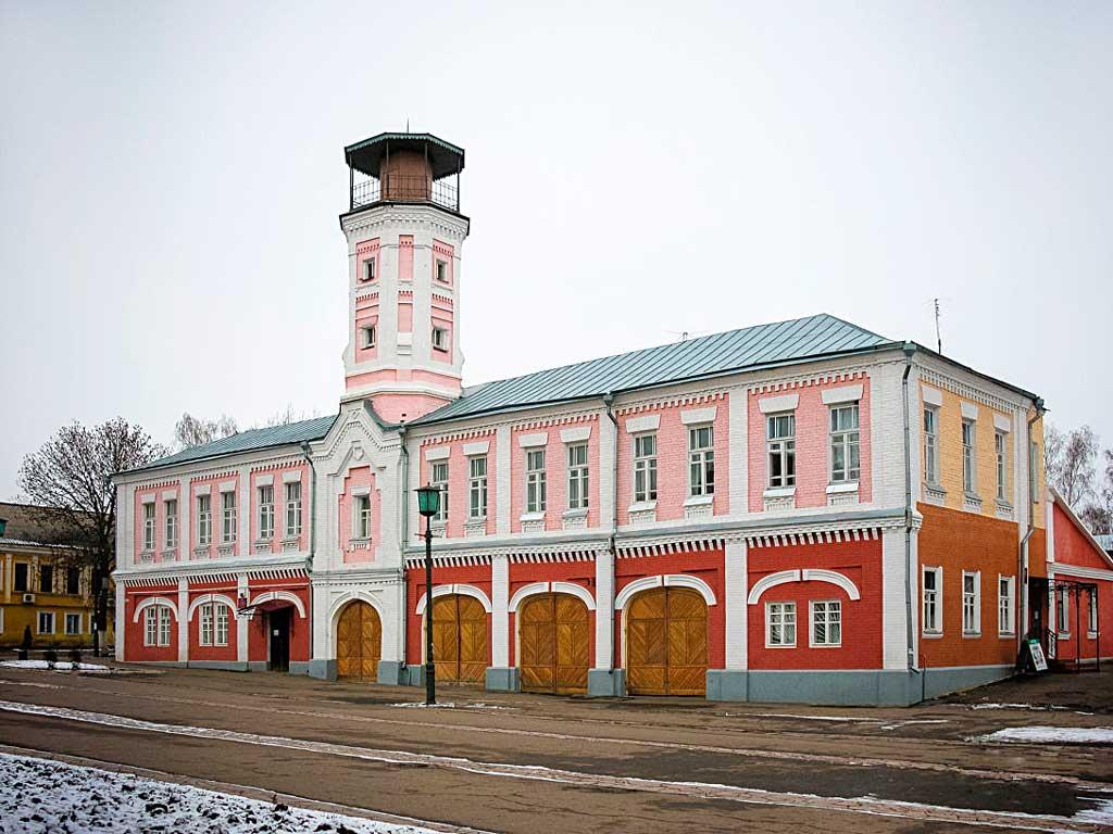 Пожарная каланча г. Острогожска