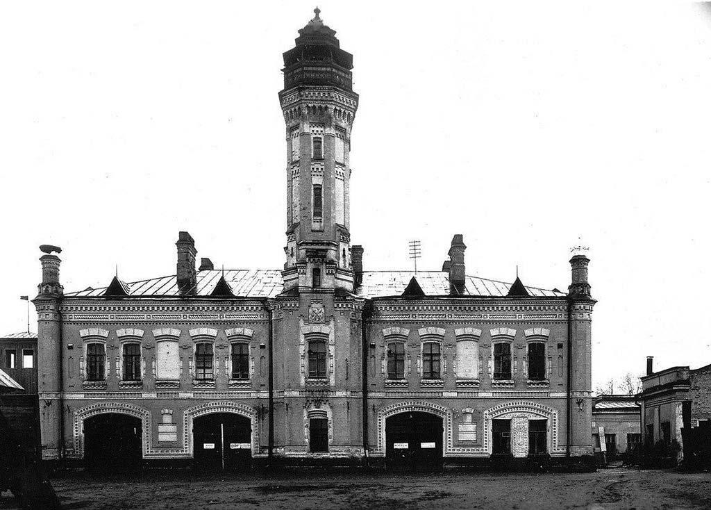 Пожарная каланча г. Перми (середина XX века)