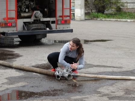 Соревнования по пожарно прикладному спорту Курск