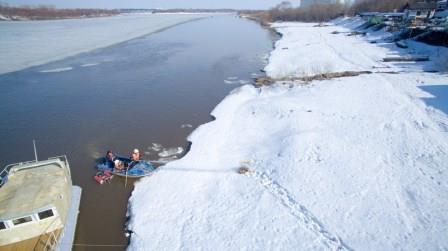 Тренировка на реке Вятка