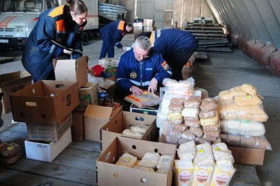 снабжение продуктами питания населения