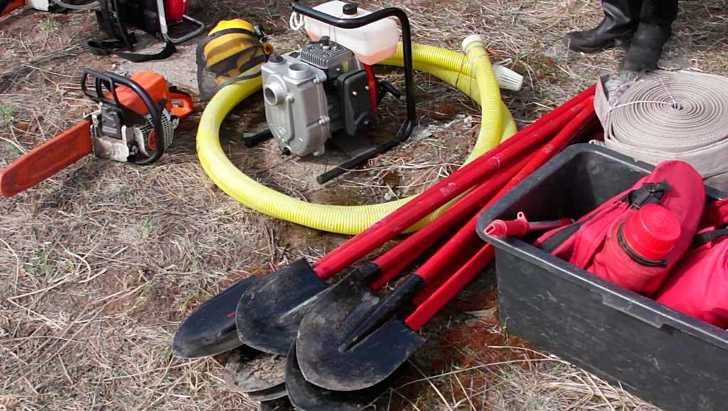 Средства борьбы с лесными пожарами