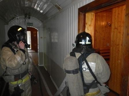 Разведка при тушении пожара