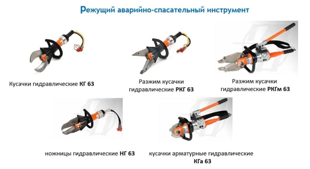 Режущий аварийно-спасательный инструмент