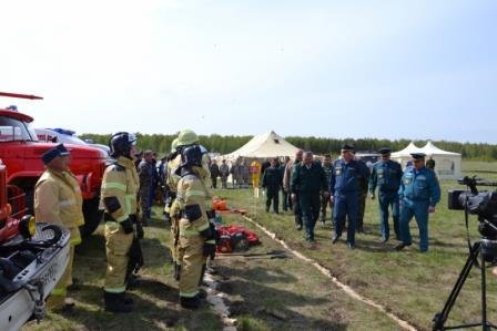 Тренировка в Башкортостане