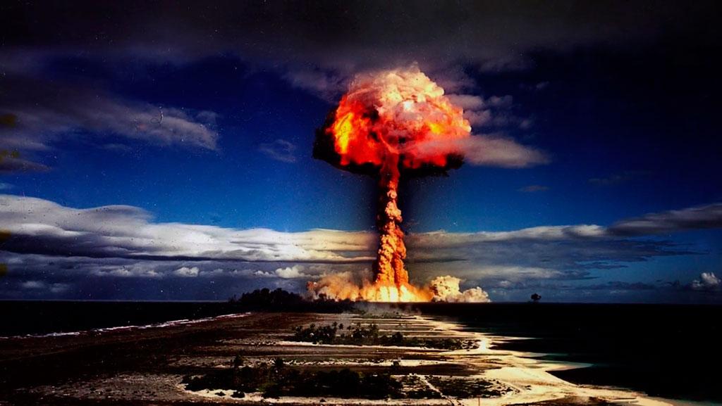 Выпадение радиоактивных аэрозолей
