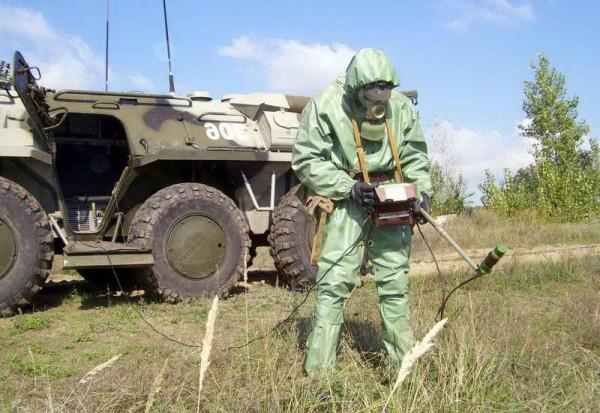Задачи химической разведки