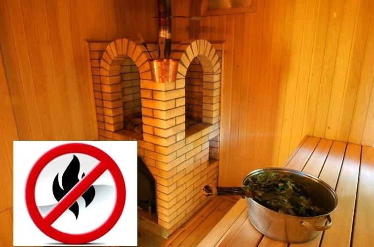 пожарная безопасность в банях-саунах