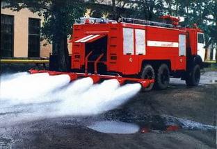Пожарный автомобиль аэродромный