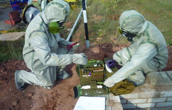 Приборы химической разведки