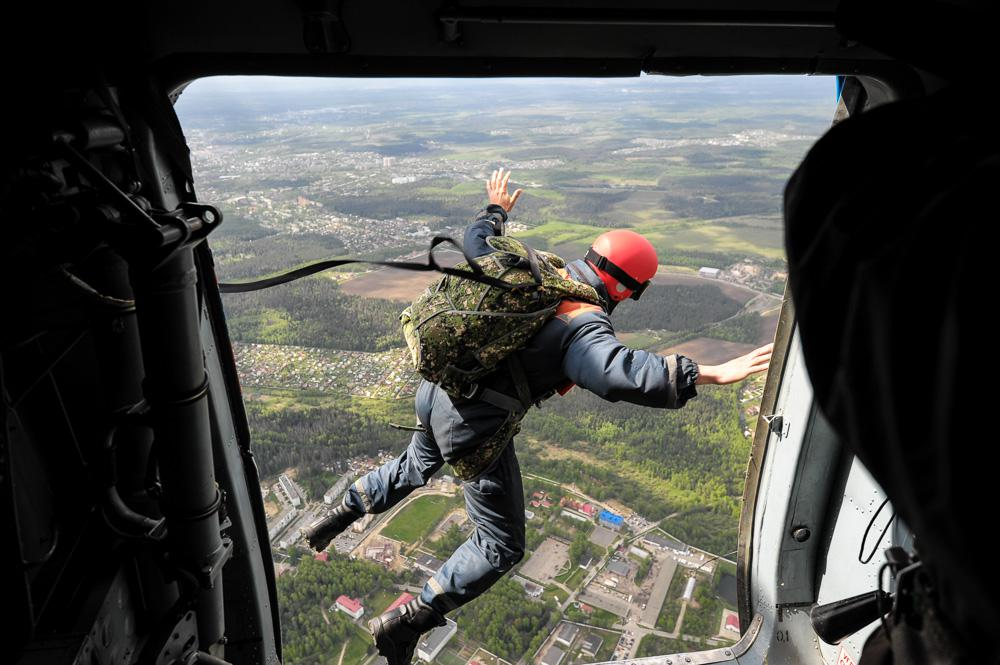 Десант МЧС России