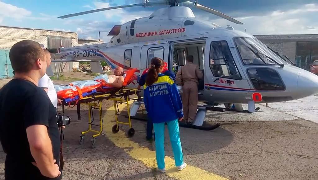 Готовность всероссийской службы медицины катастроф ВСМК