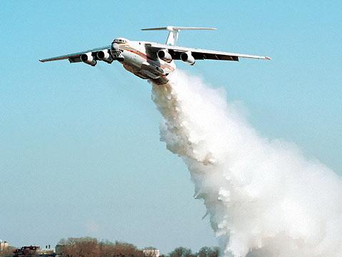 Лесопожарные самолеты-танкеры