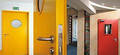 Противопожарные двери: виды и модификации