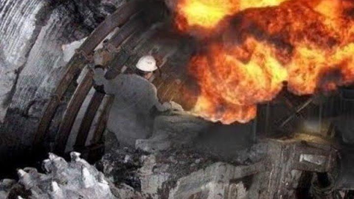 Подземные пожары в шахтах и рудниках