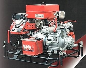 Пример переносной мотопомпы пожарной МПН-800-80