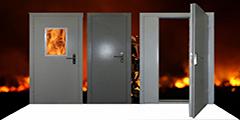 Противопожарные двери: правила монтажа и установки