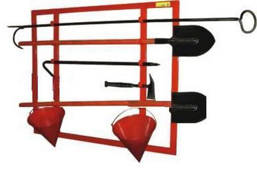 Щит пожарный открытого типа – каркасный сборный