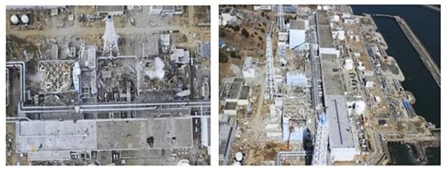 Японская АЭС после аварии с БПЛА